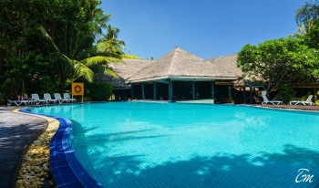 Adaaran Select Hudhuranfushi Maldives Main Pool