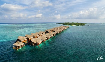 Adaaran Select Hudhuranfushi Maldives Aerial View