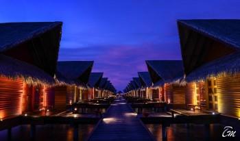 Adaaran Select Hudhuranfushi Maldives Water Villa Exterior