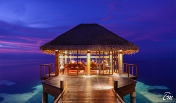 Adaaran Select Hudhuranfushi Maldives Water Villa Lounge