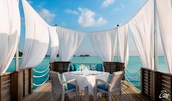 Anantara Dhigu Maldives Resort Floating Platform