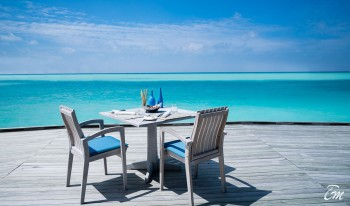 Anantara Dhigu Maldives Resort Sea Fire Salt