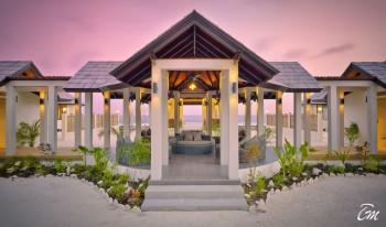 Atmosphere Kanifushi Maldives Akiri Spa Exterior