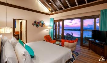 Atmosphere Kanifushi Maldives Water Villa Interior