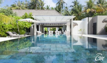 Cheval Blanc Randheli Maldives Island Villa Pool View