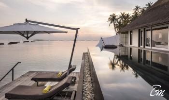 Cheval Blanc Randheli Maldives Lagoon Garden Villa Ocean Face