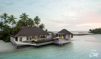 Cheval Blanc Randheli Maldives Lagoon Garden Villa 2 Bed room