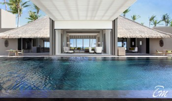 Cheval Blanc Randheli Maldives Private Island Infinity Pool