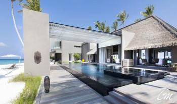 Cheval Blanc Randheli Maldives Private Island Villa exterior