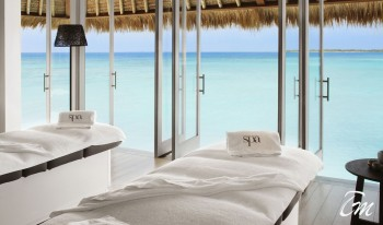 Cheval Blanc Randheli Maldives  Spa Ocean Face