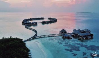 Coco Bodu Hithi Maldives Aerial View