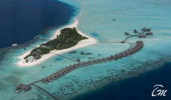 Como Cocoa Island Maldives Aerial View