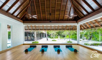 Como Maalifushi Maldives Yoga studio