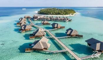 Conrad Maldives Rangali Island Aerial View