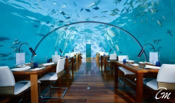 Conrad Maldives Rangali Island Undersea Restaurant
