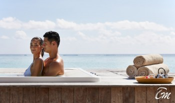 Conrad Maldives Rangali Island Over Water Spa Whirlpool