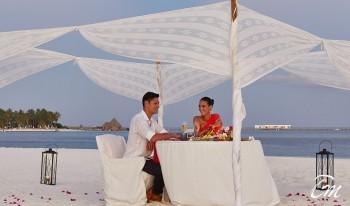 Conrad Maldives Rangali Island Beach Dining