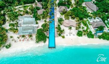 Fairmont Maldives - Sirru Fen Fushi - Infinity Pool