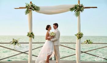 Over Water Wedding Venue - Fairmont Maldives - Sirru Fen Fushi
