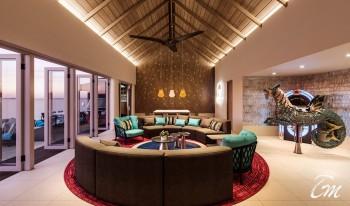 Hard Rock Hotel Maldives Rock Star Villa Lounge