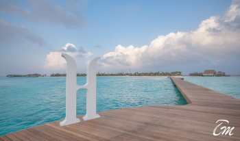 Heritance Aarah Resort Maldives Arrival Jetty