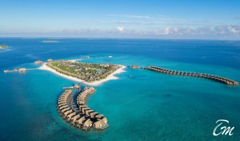 Heritance Aarah Resort Maldives Aerial View
