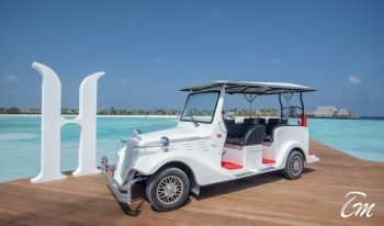 Heritance Aarah Resort Maldives Buggy