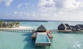 Heritance Aarah Resort Maldives Infinit Pool Aerial