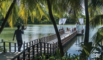 Shangri-Las Villingili Resort and Spa - Dine by Design at the Green Lagoon
