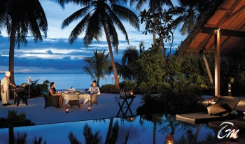 Shangri-Las Villingili Resort and Spa - Dine by design