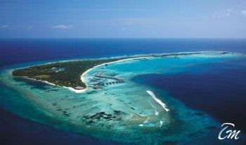 Shangri-Las Villingili Resort and Spa - Maldives Areal View