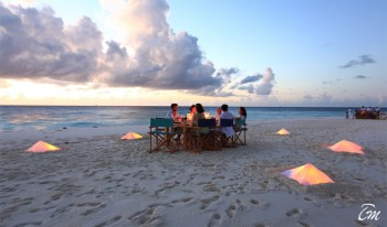 Six Senses Laamu Maldives - Beach Dining