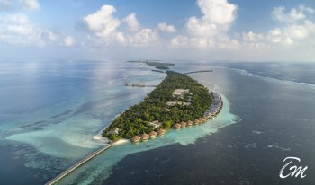 The Residence Maldives Dhigurah Aerial View