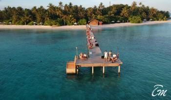 Vakarufalhi Maldives - Jetty Sunset