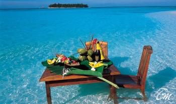 Vakarufalhi Maldives - Lunch In the Sea
