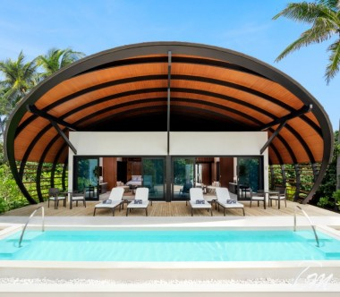 The Westin Maldives Miriandhoo Resort 2 BR Beach Villa Pool