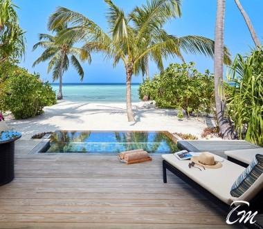 Amari Havodda Maldives Sunset Beach Pool Villa