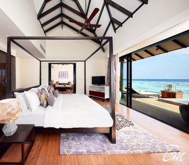 Amari Havodda Maldives Over water Pool Suite