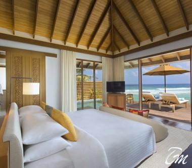 Anantara Veli Maldives Resort Ocean Pool Bungalow Interior