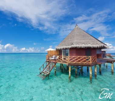 Angaga Island Resort Water Bungalow Exterior