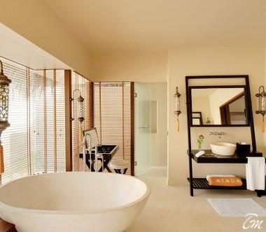 Ayada Maldives Villas Beach Suite With Pool Bathroom