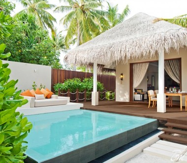 Ayada Maldives Villas Beach Suite With Pool Exterior