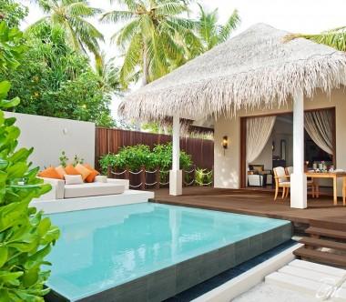 Ayada Maldives Villas Beach Suite With Pool Exterior