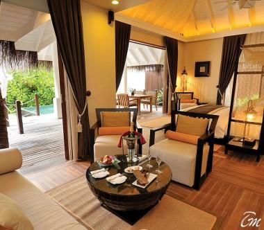 Ayada Maldives Villas Beach Suite With Pool Interior