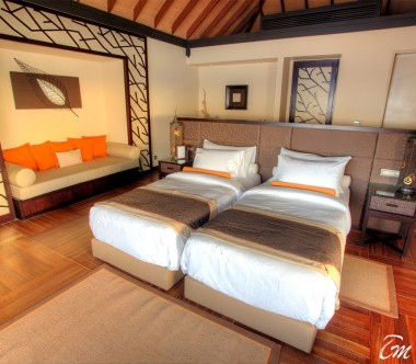 Ayada Maldives Royal Ocean Suite with Pool Bedroom