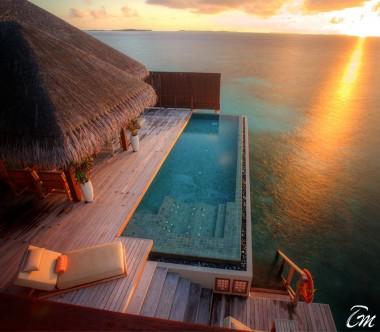Ayada Maldives Royal Ocean Suite with Pool Exterior