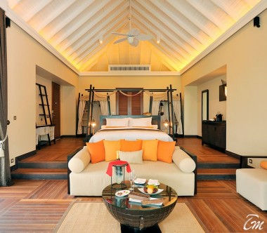 Ayada Maldives Sunset Beach Suite With Pool Interior