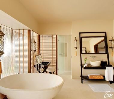 Ayada Maldives Villas Beach Villa Bathroom