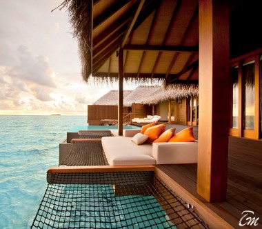 Ayada Maldives Sunset Ocean Suite With Pool Exterior
