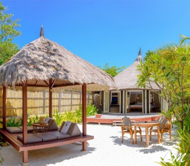 Banyan Tree Vabbinfaru - Ocean View Pool Villa Exterior